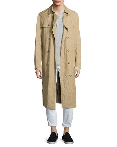 Michael KorsInox Lightweight Trench Coat, Khaki