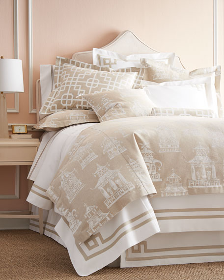 Legacy Home King Ming Pagoda Duvet Cover