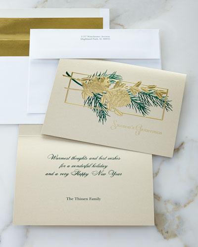 Pine Cone Christmas Cards