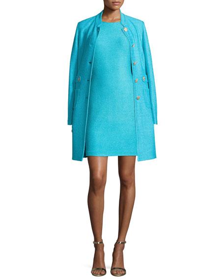 St. John Collection Windy Knit Topper Jacket w/