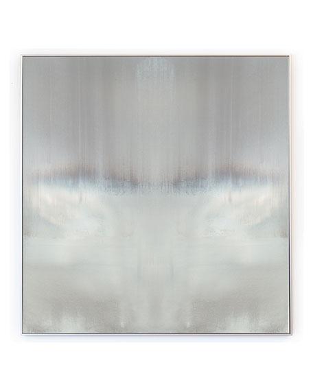 """""""Haze Reflected"""" Square Signed, Embellished Giclee"""