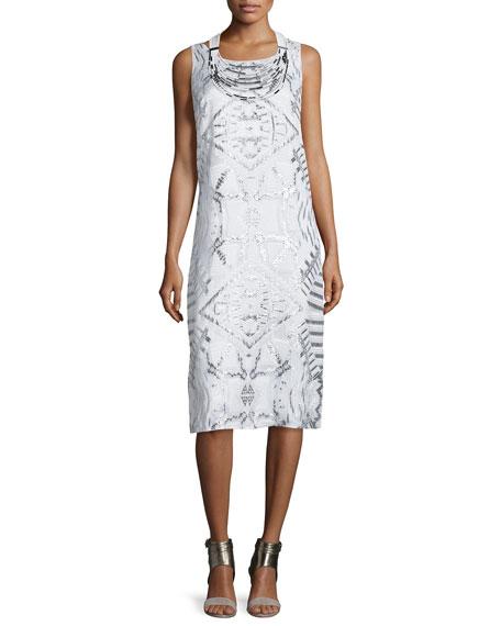 Lafayette 148 New YorkLola Sleeveless Fil Coupe Dress