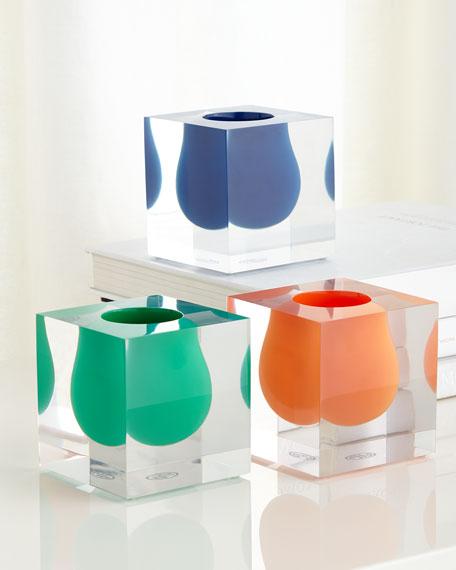 Bel Air Cobalt Mini Scoop Vase
