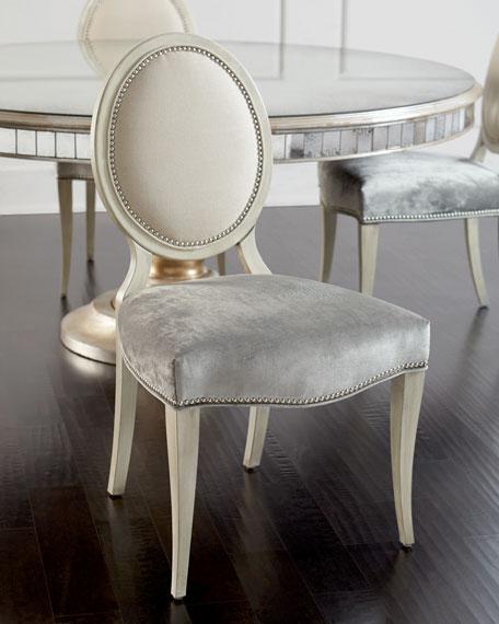 JohnRichard Collection Gwyneth Dining Chair Lisandra Antiqued
