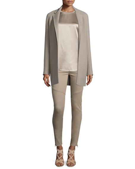 Ralph Lauren Collection Addison Open-Front Jacket, Taupe