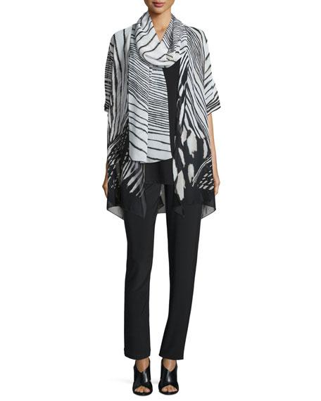 Caroline RoseSummer Safari Short-Sleeve Cardigan
