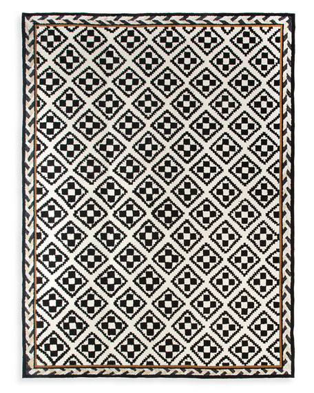 Courtyard Outdoor Rug, 3' x 5'