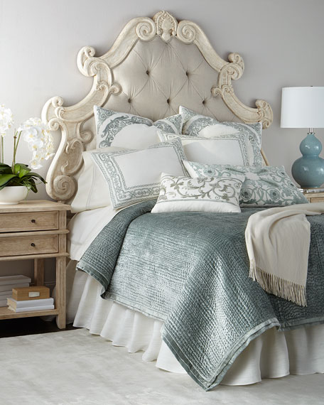 Hughes Tufted King Headboard