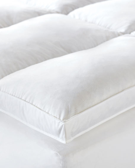 Saugatuck Feather Bed, King