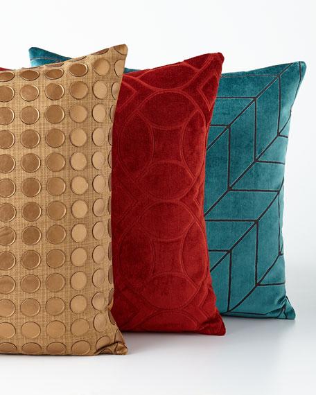 Modern Twist Gold Pillow