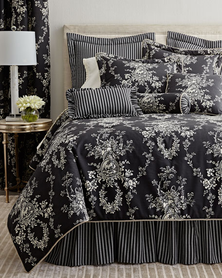 "King 3-Piece ""French Toile"" Comforter Set"