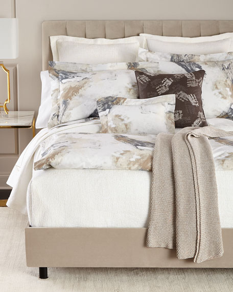 Two King Scroll Pillowcases