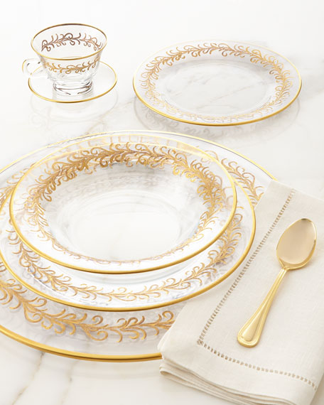 """Oro Bello"" Dinner Plates, Set of 4"