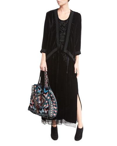 Jacket, Dress & Tote Bag