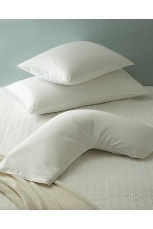 """The Pillow Bar King Down Pillow, 20"""" x 36"""" Standard Down Pillow, 20"""" x 26"""""""