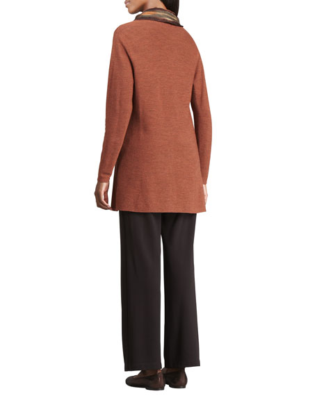 Long-Sleeve Slim Jersey Top