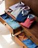 Summer Melange Check Shirt, Cape Red