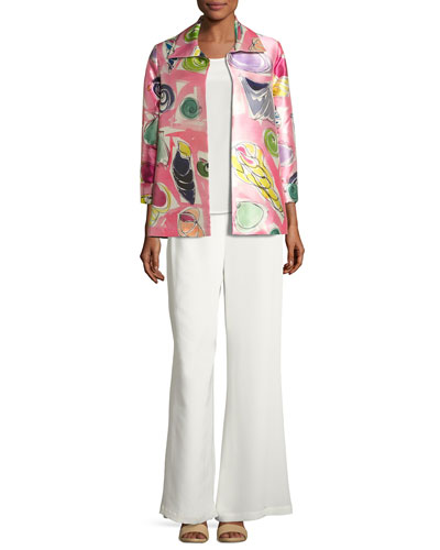 Beachy Keen Printed Lady Jacket, Plus Size and Matching Items