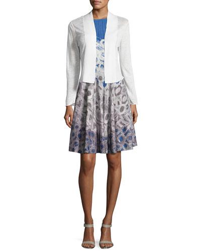 Daybreak Linen-Blend Cardigan & Dress