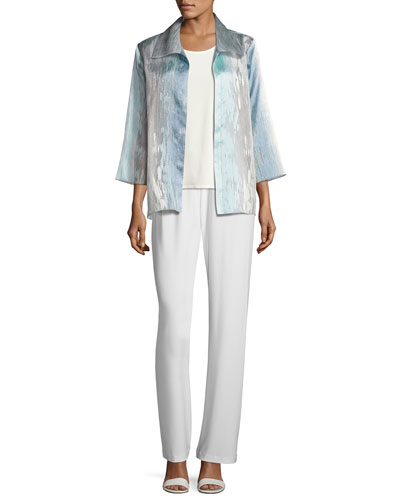 Organza Ombre Easy Shirt  and Matching Items