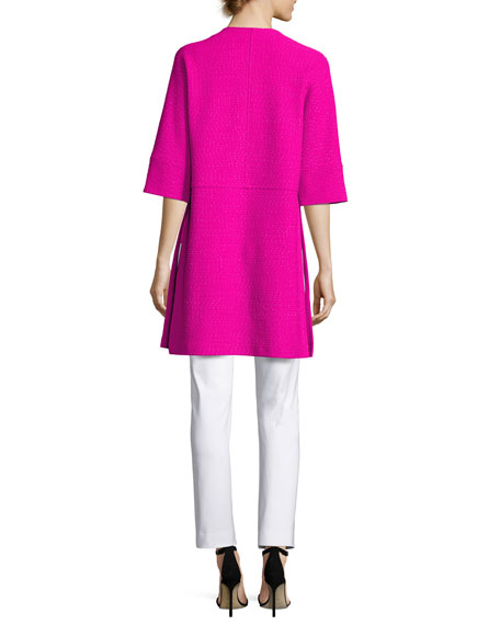 Milano Knit Contour Shell, Pink