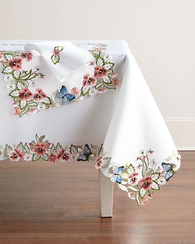 Designer Tablecloths Amp Runners At Neiman Marcus