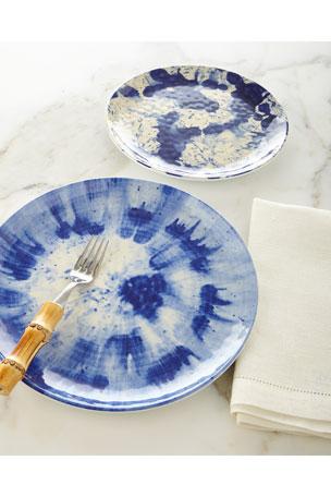 Juliska Splatter & Spin Melamine Dessert/Salad Plate Splatter & Spin Melamine Dinner Plate