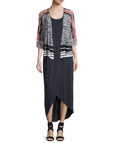 Blue Nile Tissue Tee-Style Cardigan, Petite and Matching Items