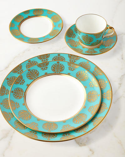 Bristol Belle Turquoise Salad Plate and Matching Items