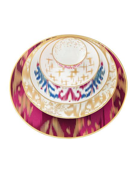 Ikat Sapphire Bread & Butter Plate