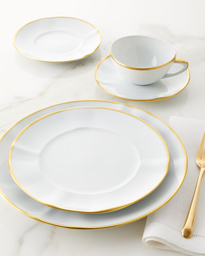 Simply Elegant Salad Plate and Matching Items