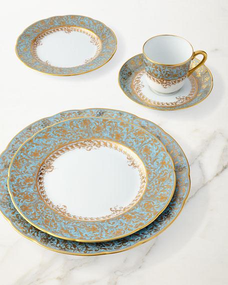 Eden Turquoise Salad Plate