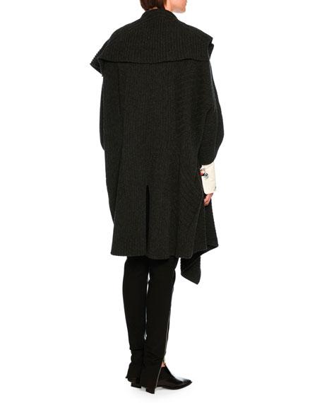 Darcelle Faux-Leather Trousers, Black