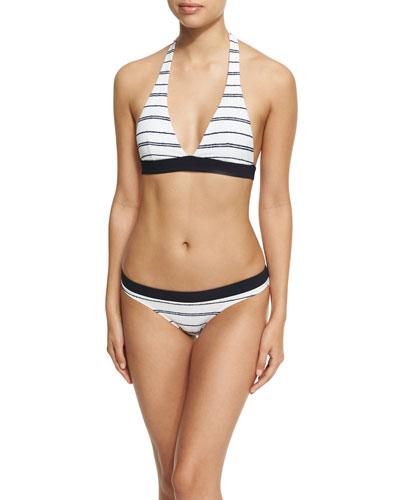 Nassau Halter Padded Swim Top, White and Matching Items