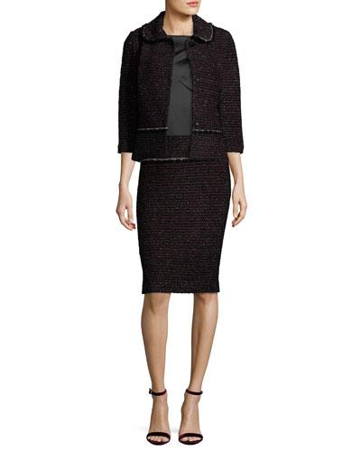 Jacket, Top & Skirt