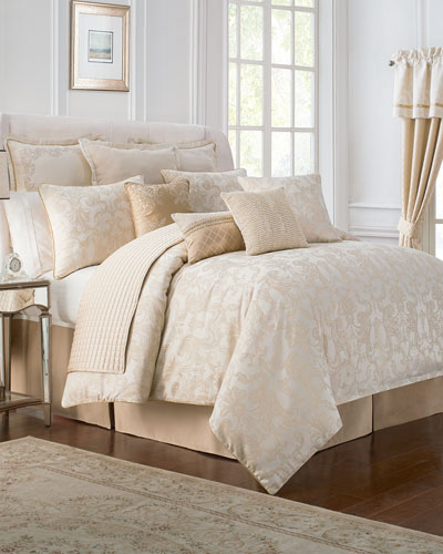 King 4 Piece Britt Comforter Set. Luxury Comforter Sets   Comforters at Neiman Marcus