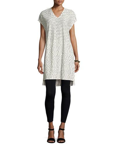 Painterly Organic Linen Tunic, Plus Size and Matching Items