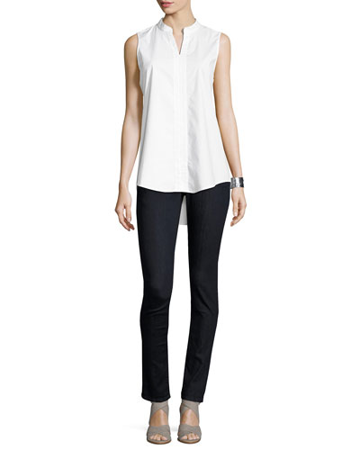 Organic Soft Stretch Skinny Jeans, Indigo and Matching Items