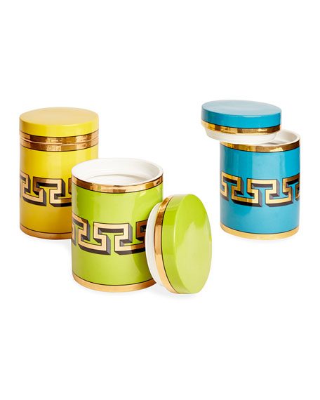 Yellow Mykonos Canister