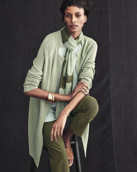 Sleek Tencel Knit Jacket