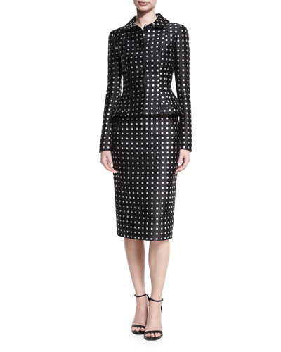 Carlton Polka-Dot Pencil Skirt and Matching Items