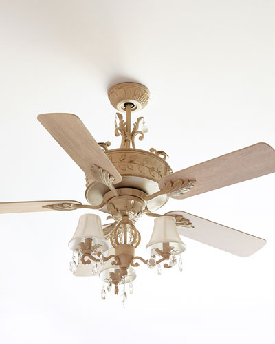 Antoinette Ceiling Fan and Matching Items