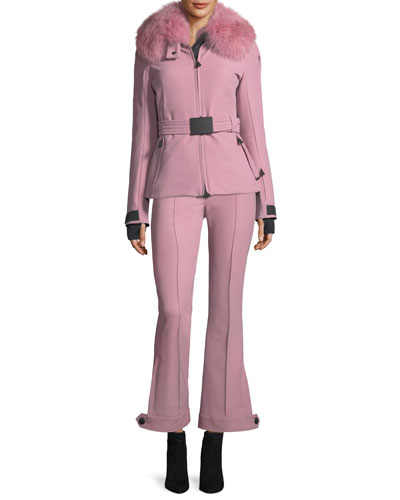 Front-Seam High-Waist Flared Pants and Matching Items