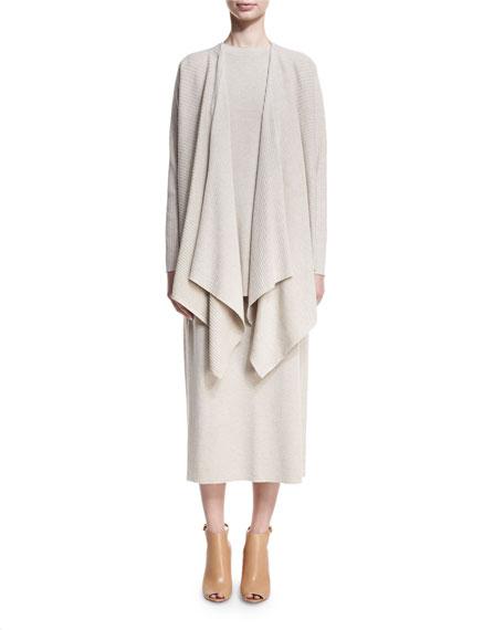 Washable Wool Wrap Cardigan