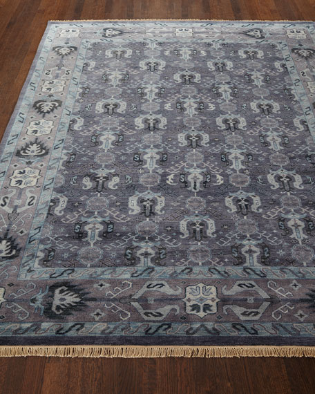 Remie Hand-Knotted Rug, 8' x 11'