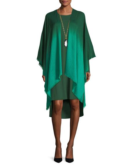Ombre Wool/Silk Wrap
