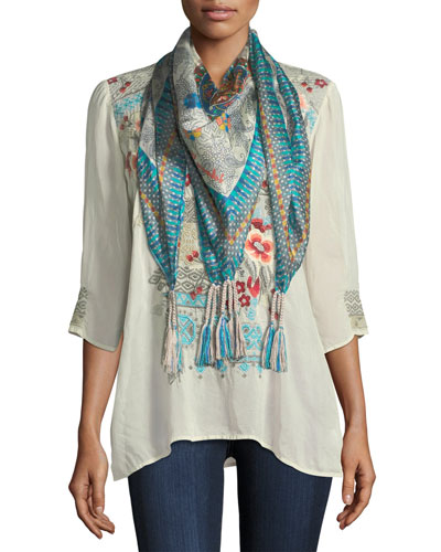 Mocity Silk Georgette Scarf and Matching Items