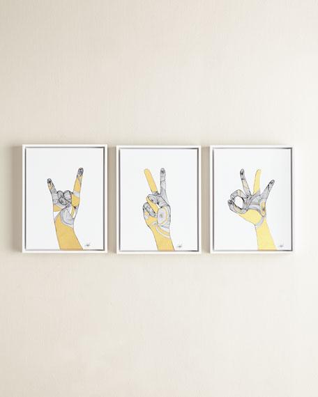 Sign Language IV Giclee
