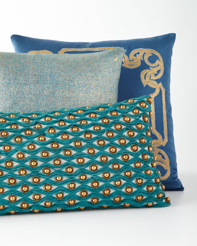 Decorative Teal Pillows