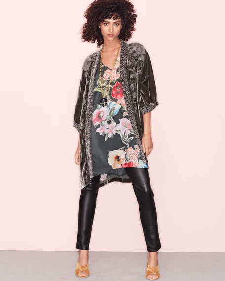 Cambria Floral-Print Blouse